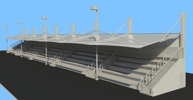 Grandstand Designs : Carter hood architects tweed regional aquatic centre